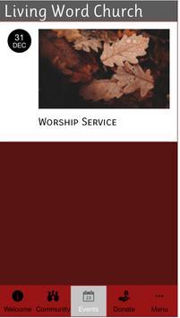 Living Word Church Ohio apk screenshot