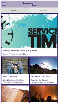 Redemption Road Ministries poster