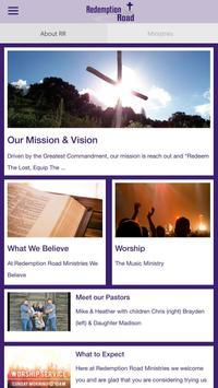 Redemption Road Ministries apk screenshot