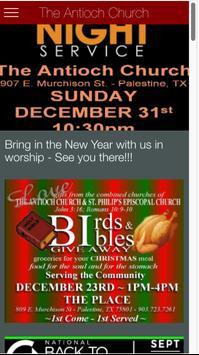 The Antioch Church, Texas screenshot 2