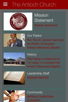 The Antioch Church, Texas apk screenshot