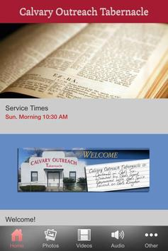 Calvary Outreach Tabernacle apk screenshot