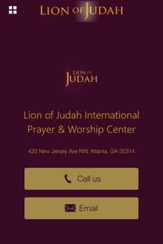 Lion of Judah Intl PWC poster