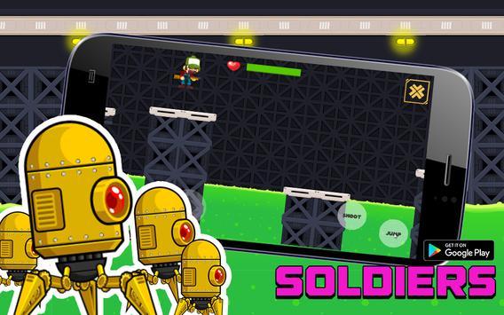 Metal Shooter Super Soldiers apk screenshot