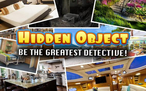 Hidden Objects : Fear Mansion Crime Case Challenge poster