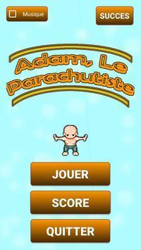 Adam, Le Parachutiste poster