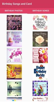 Happy Birthday Card And Songs Offline Poster