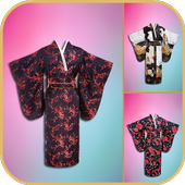 Kimono Dress Photo Editor icon