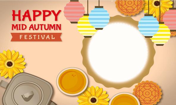 Mid Autumn Festival Photo Frame Editor poster