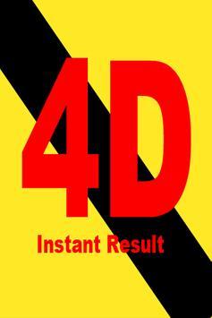 4D Instant Result poster