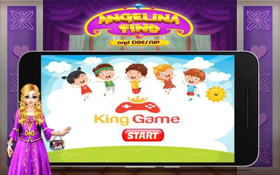 Angelina Find And Dress up poster