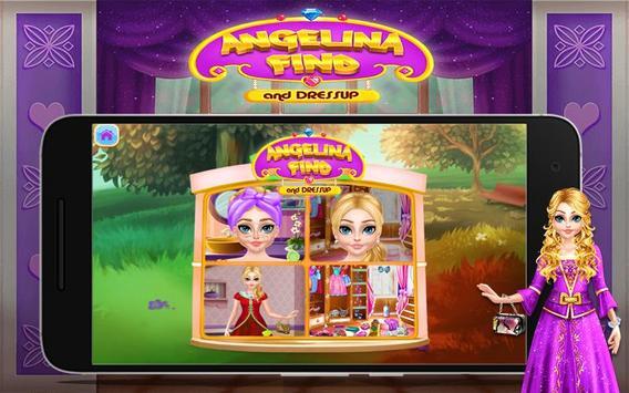 Angelina Find And Dress up screenshot 2