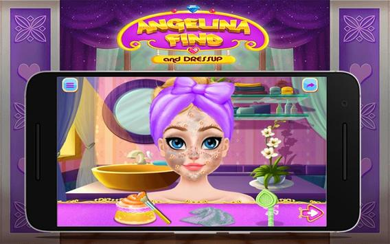 Angelina Find And Dress up screenshot 3