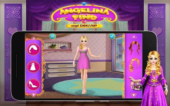 Angelina Find And Dress up screenshot 5