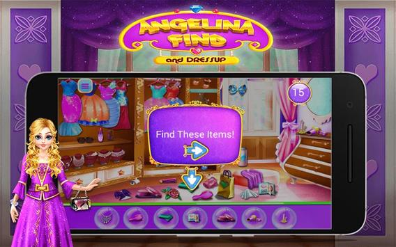 Angelina Find And Dress up screenshot 6