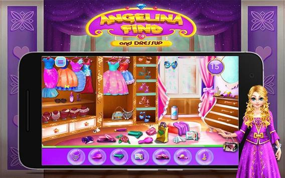 Angelina Find And Dress up screenshot 7