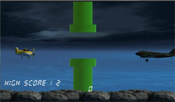 Escape Flappy Airplane poster