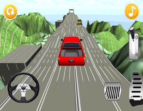 Hill Climb Racing : Red Car poster