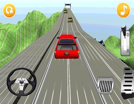 Hill Climb Racing : Red Car apk screenshot