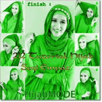 212 Tutorial Hijab Segi Empat poster