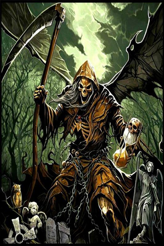 ... Dark Grim Reaper Wallpaper screenshot 2 ...