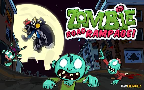 Zombie Road Rampage poster