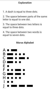 International Morse Code Lite screenshot 1