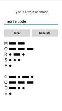 International Morse Code Lite screenshot 2