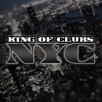 King of Clubs NYC poster