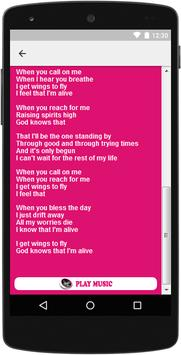 The Best Music & Lyrics Celine Dion apk screenshot
