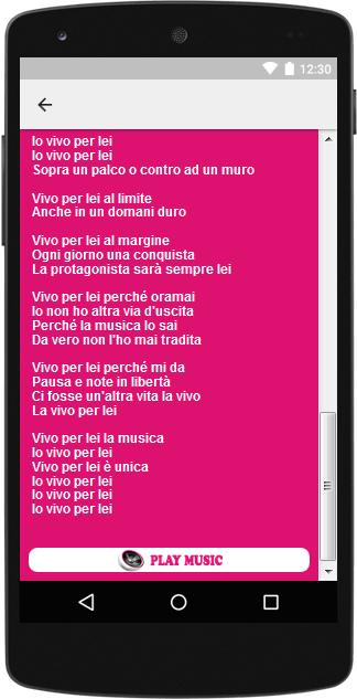 The Best Music Lyrics Andrea Bocelli For Android Apk Download