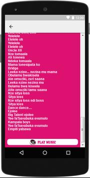 The Best Music & Lyrics Eddy Kenzo apk screenshot