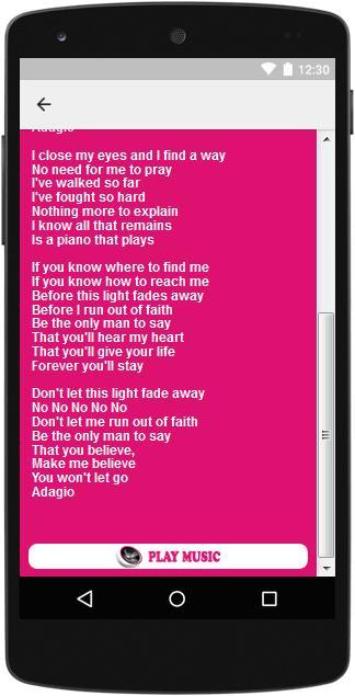 The Best Music & Lyrics Lara Fabian cho Android - Tải về APK