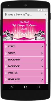 The Best Music & Lyrics Simone e Simaria apk screenshot