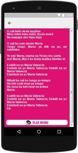 VALENCIA TÉLÉCHARGER WEMBA PAPA MARIA DE