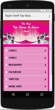 The Best Music & Lyrics Taylor Swift apk screenshot