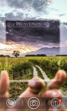 Blur Photo Effects Art poster