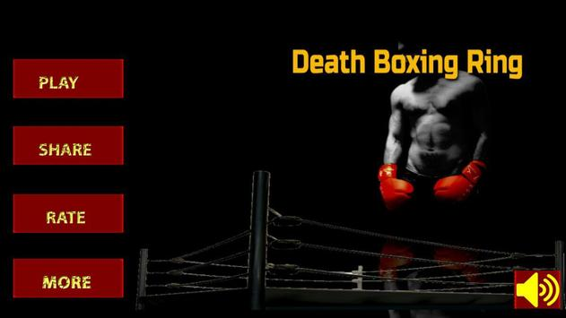 Death Boxing Ring 3D (HD) real punch poster