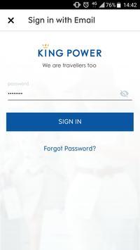 King Power Member poster