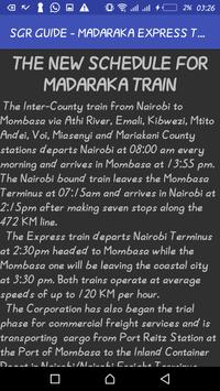 SGR GUIDE - MADARAKA EXPRESS TRAIN apk screenshot