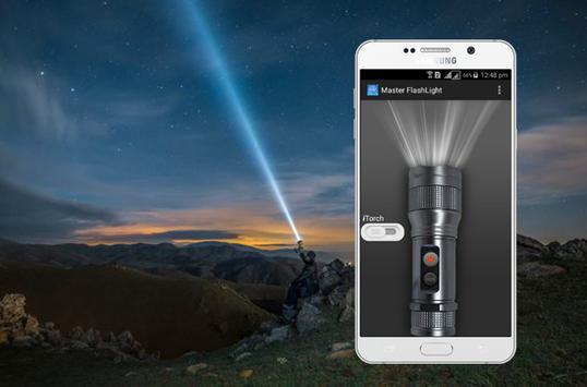 Master Flash Light-LED Torch & Galaxy Flash Light poster