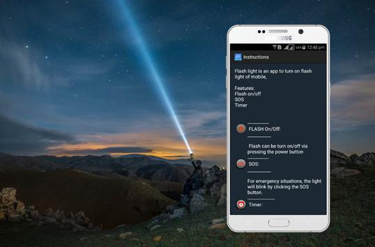 Master Flash Light-LED Torch & Galaxy Flash Light screenshot 1
