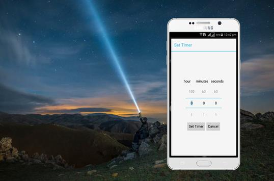 Master Flash Light-LED Torch & Galaxy Flash Light screenshot 2