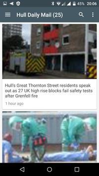 Kingston upon Hull free news screenshot 1