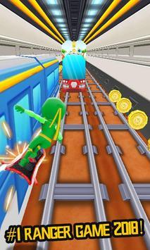 Subway Racing Ranger 2018 City Runner screenshot 14