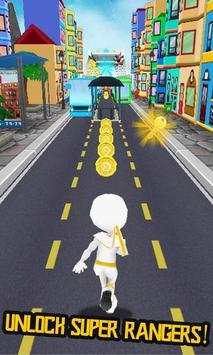 Subway Racing Ranger 2018 City Runner screenshot 4