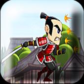 Brave Samurai Warriors Run icon