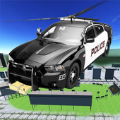 Police Flying Car - Helicopter icon