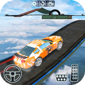 Impossible Car Stunt Game Pro 3D icon