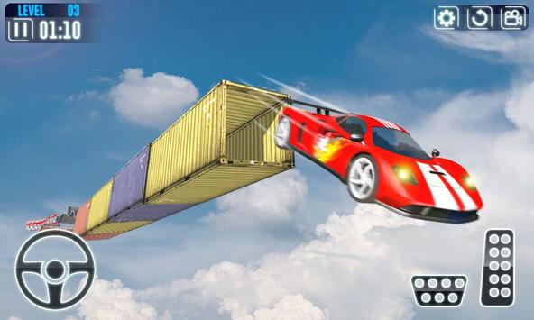 Impossible Car Stunt Game Pro 3D 포스터
